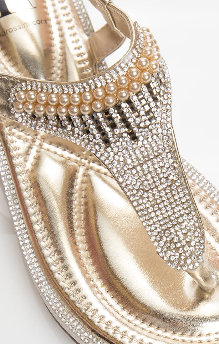 Camille Sandal - Gold