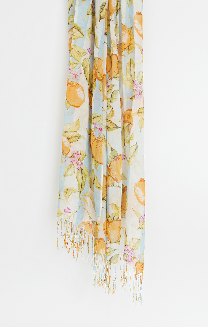 Citron Scarf - Blue