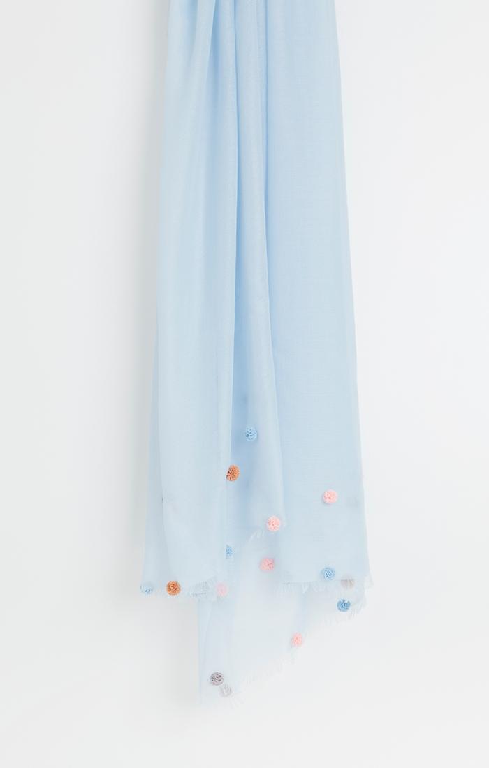 Clara Scarf - Blue