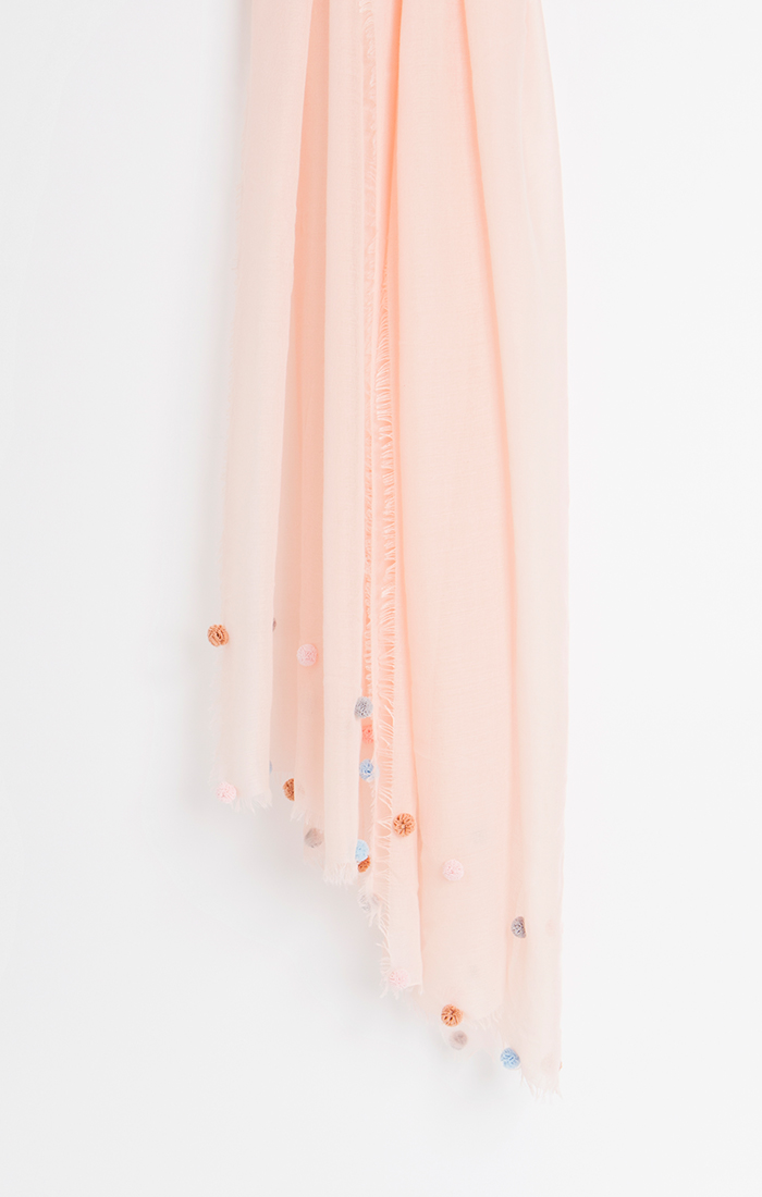 Clara Scarf - Pink