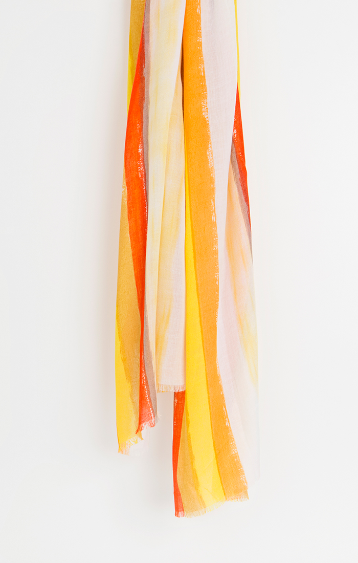 Dayton Scarf - Yellow/Red