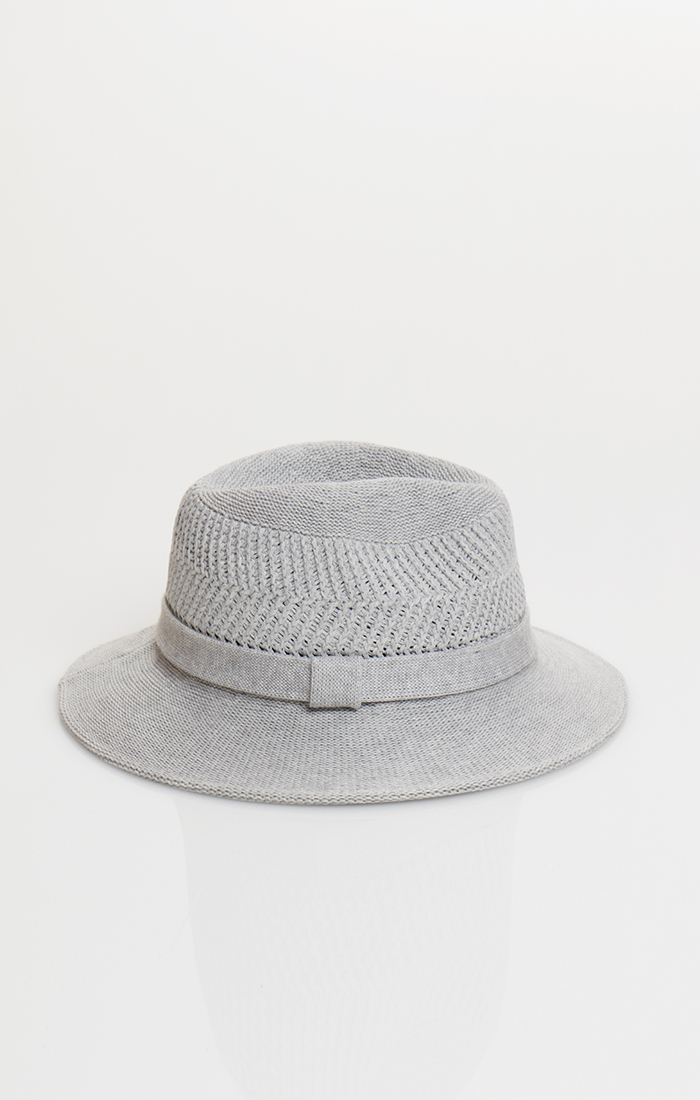 Dillion Hat - Silver Grey
