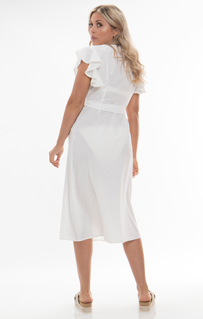 Dune Dress - White