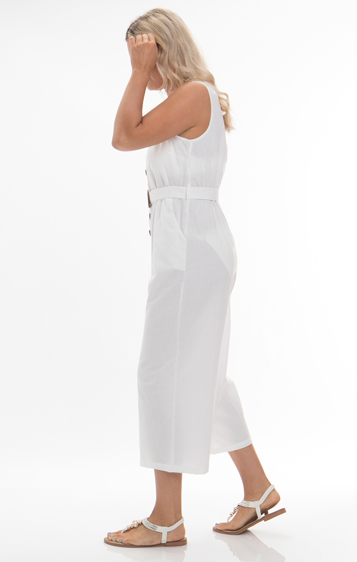 Dune Jumpsuit - White