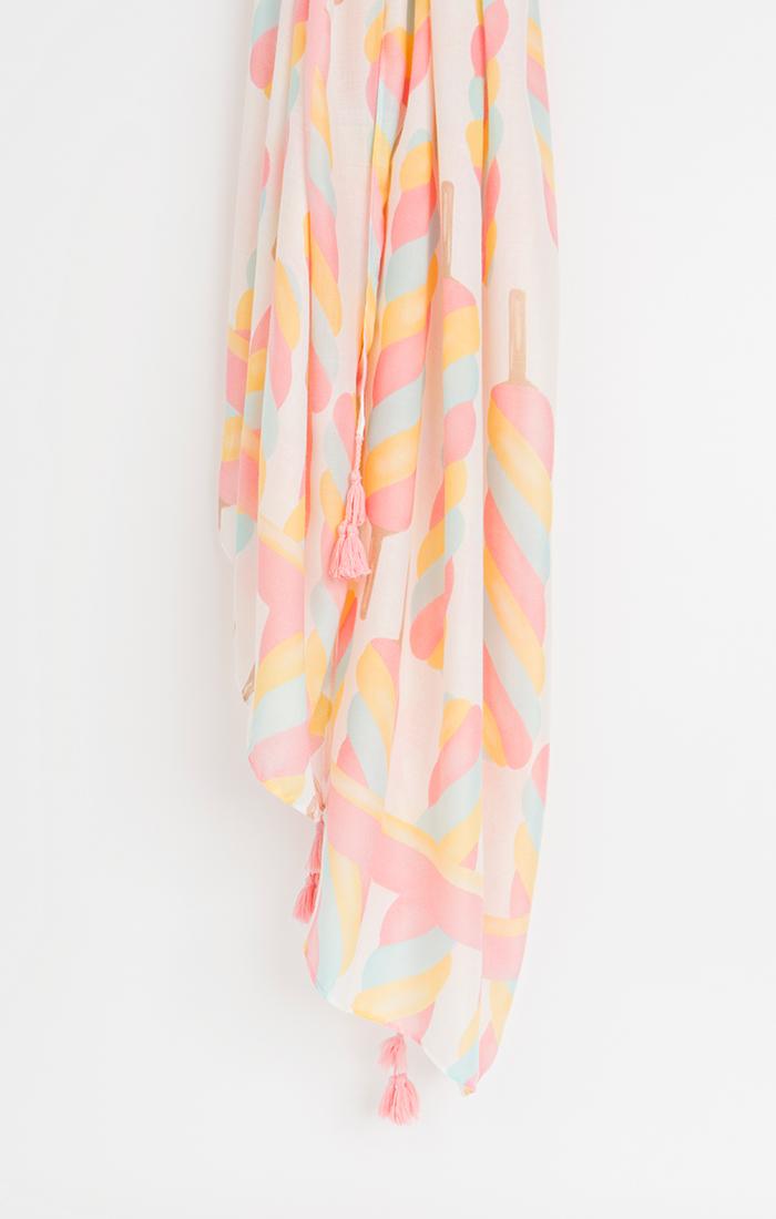 Evangeline Scarf - Pink