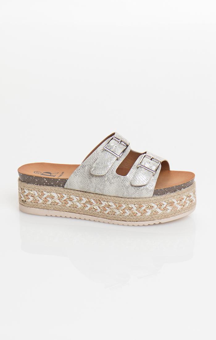 Lazio Shoe - Silver