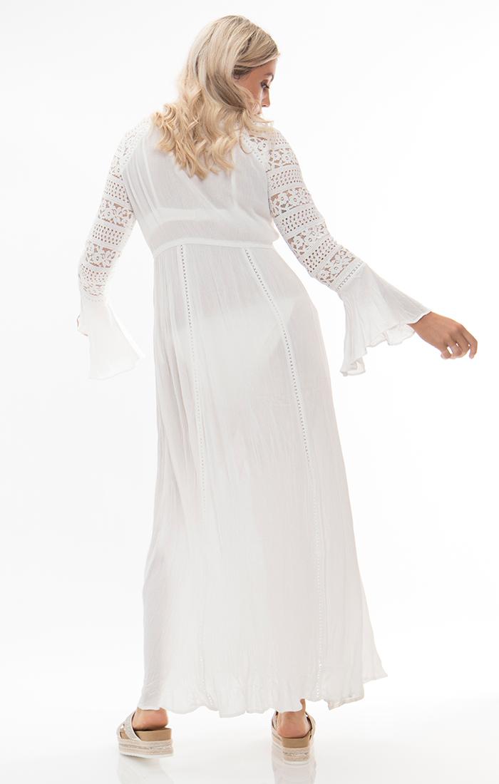 Libourne Maxi Dress - White