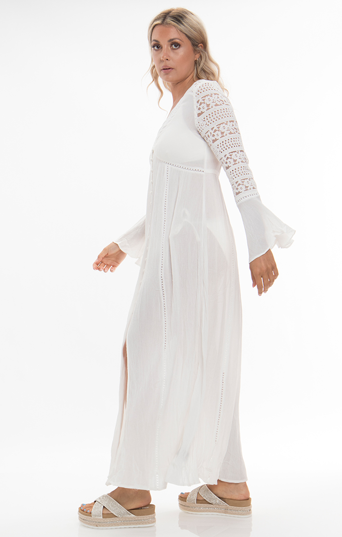 Libourne Maxi Dress - White