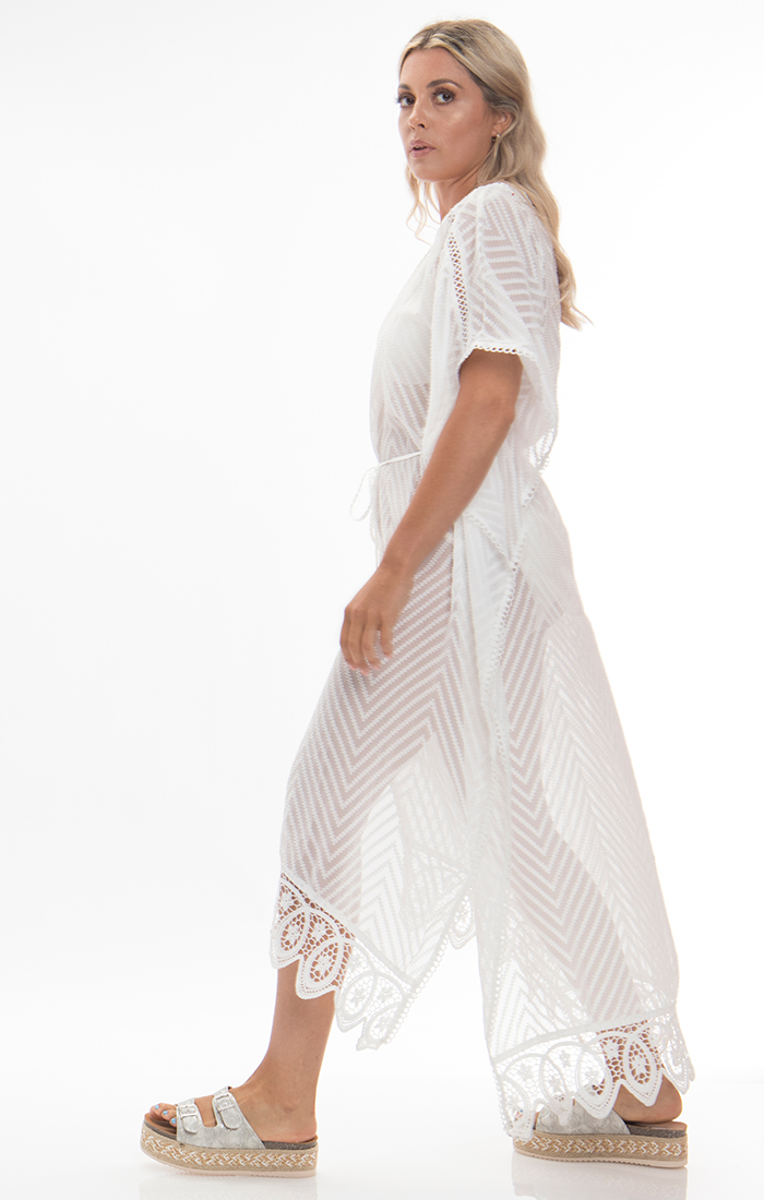 Lille Maxi Dress - White