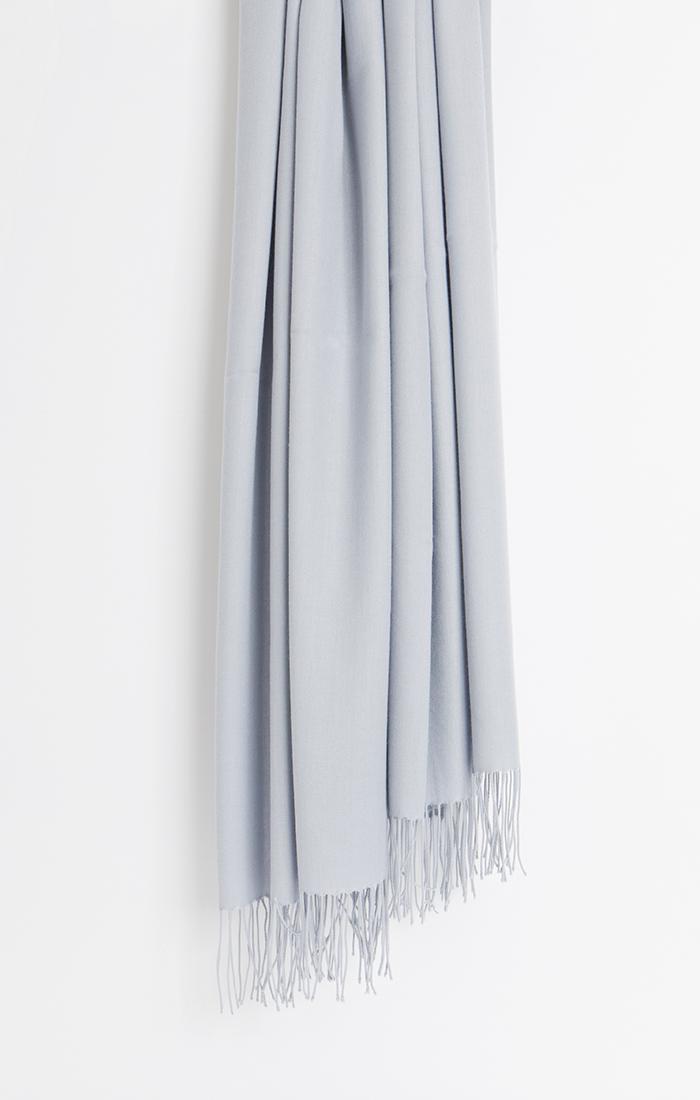 Pia Pashmina - Silver Grey