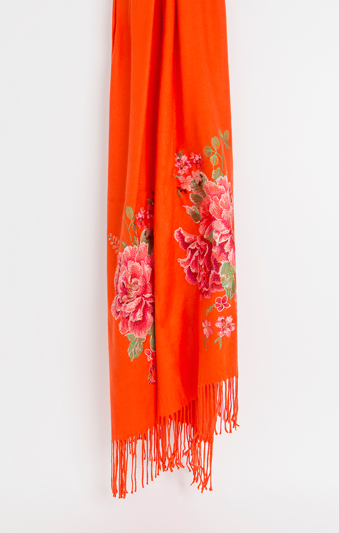 Rosa Scarf - Orange