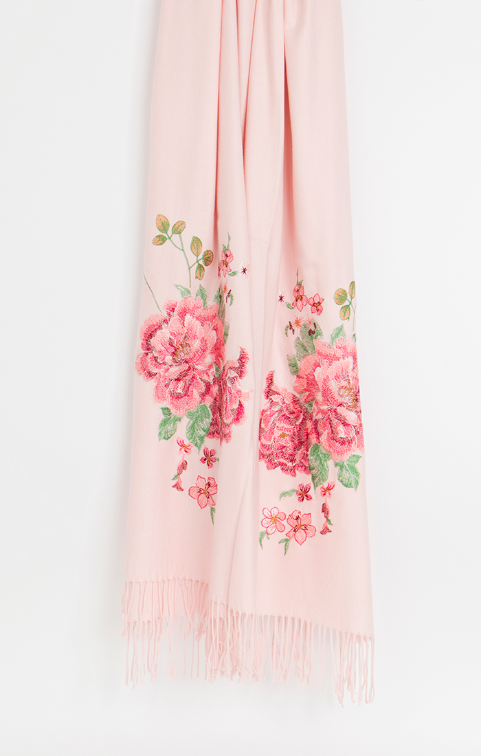 Rosa Scarf - Blush