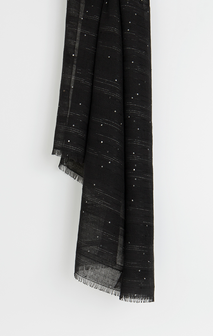 Sabrina Scarf - Black