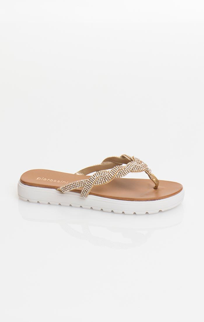 Sandrine Shoe - Gold