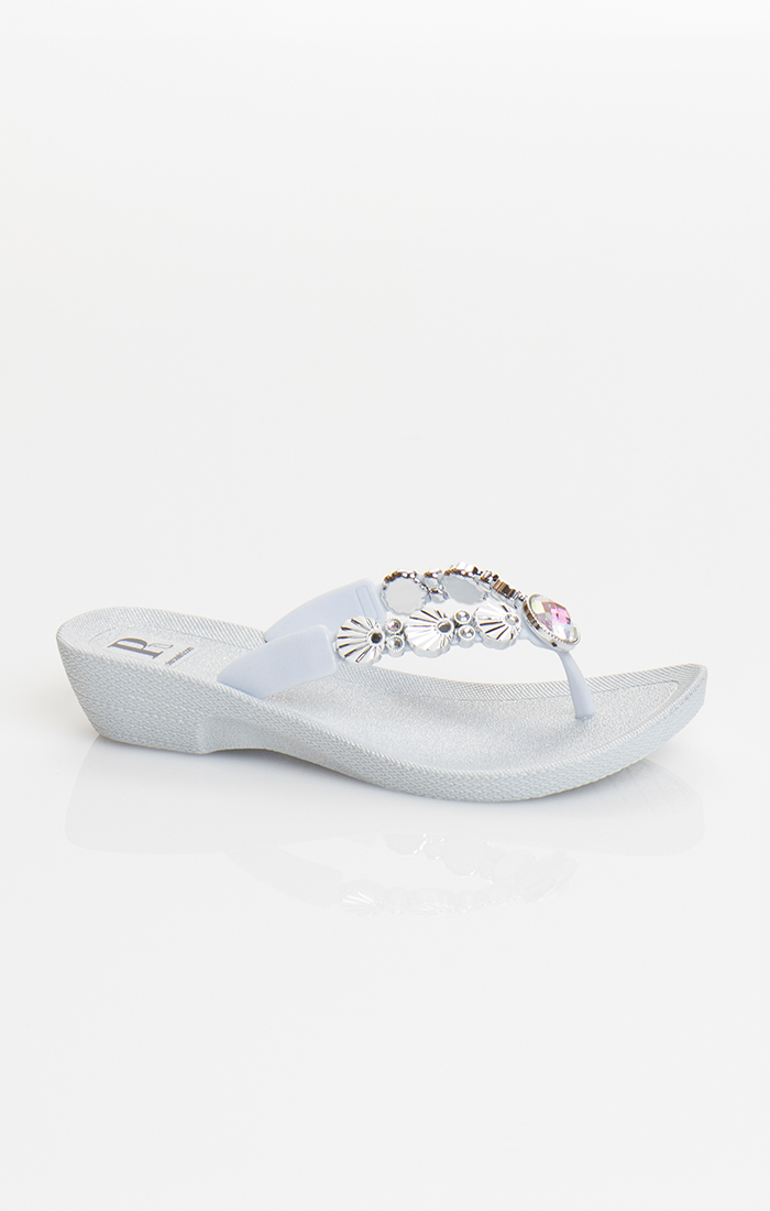 Seychelles Pool Shoe - Silver