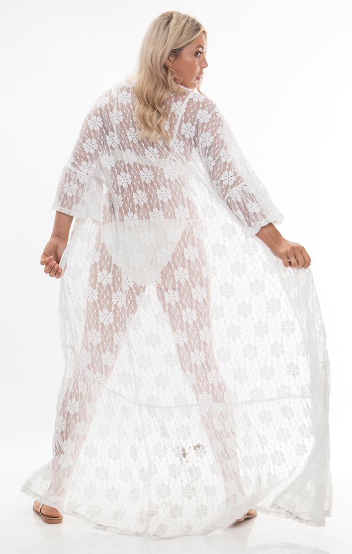 Tulum Kimono - White