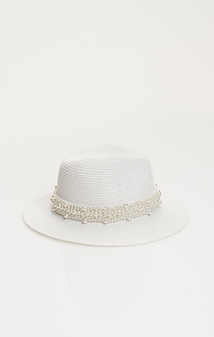 Verity Hat - White