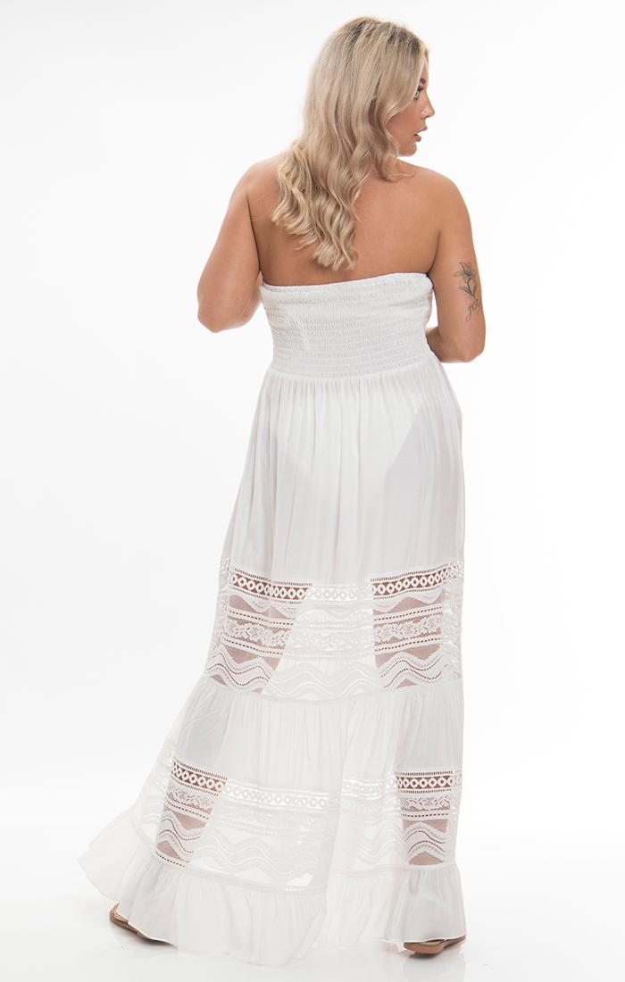 Vienna Maxi Dress - White