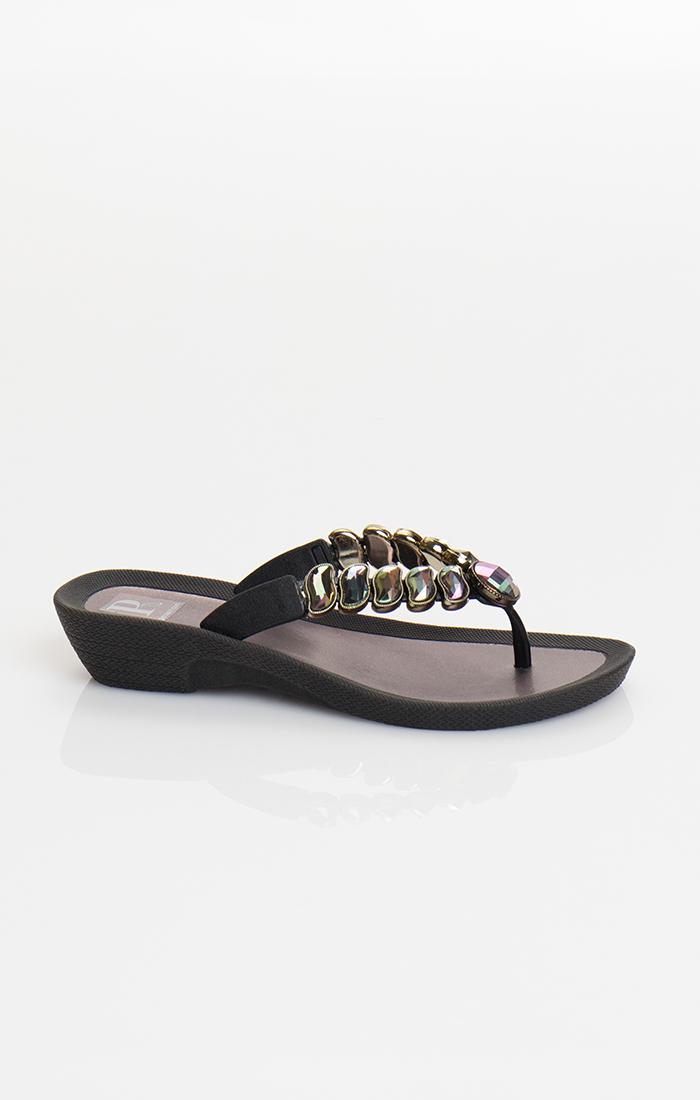 Zane Pool Shoe - Black