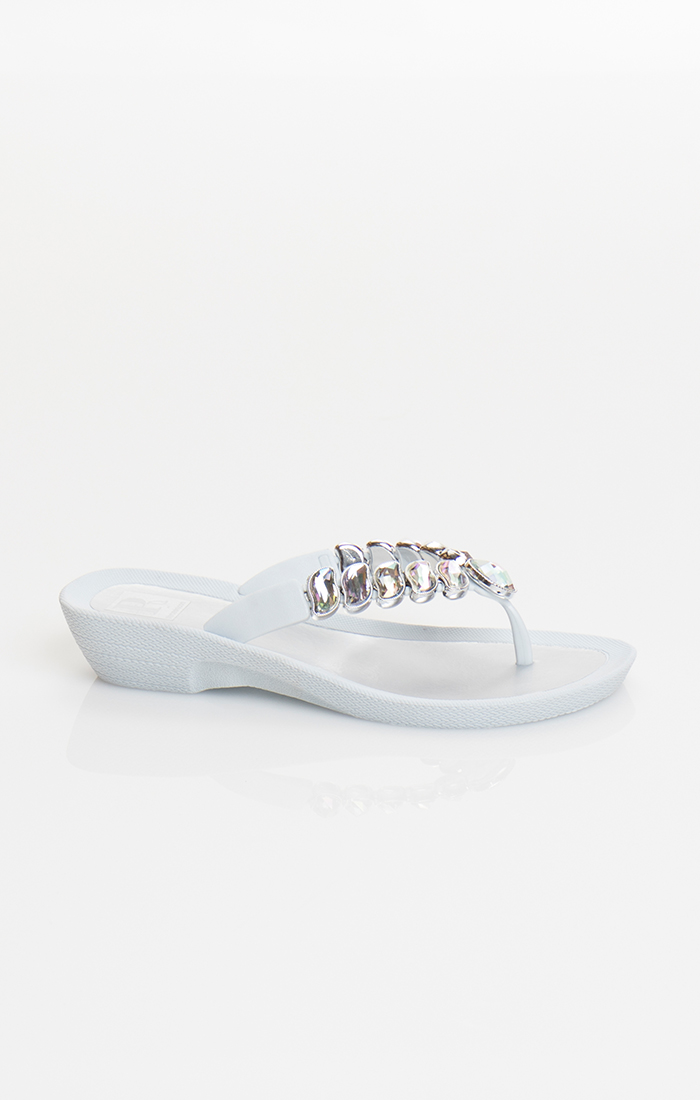 Zane Pool Shoe - White