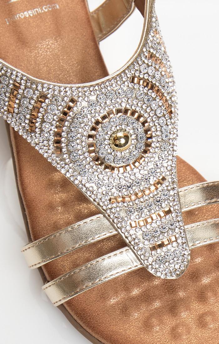 Gemini Sandal - Gold